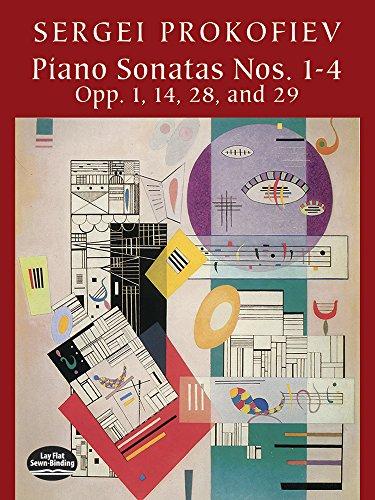 9780486421285: Piano Sonatas Nos. 1-4: Opp. 1, 14, 28, and 29 (Dover Music for Piano)