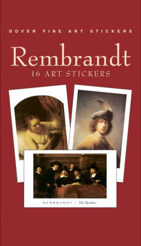 9780486421414: Rembrandt: 16 Art Stickers (Fine Art Stickers)