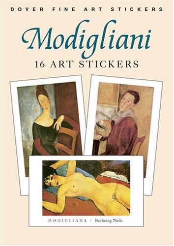 Modigliani: 16 Art Stickers (Dover Art Stickers)