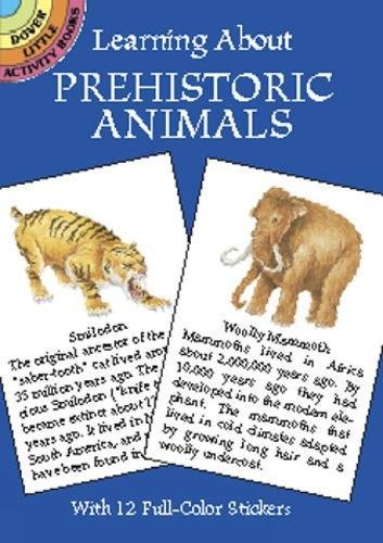 9780486421513: Learning About Prehistoric Animals (Dover Little Activity Books)