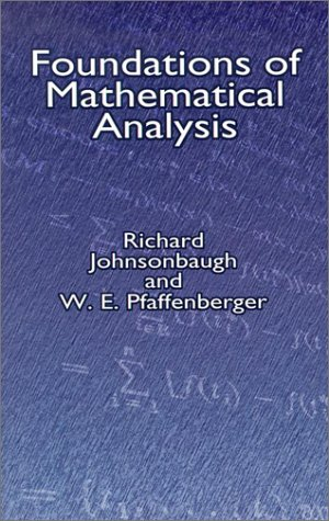 9780486421742: Foundations of Mathematical Analysis