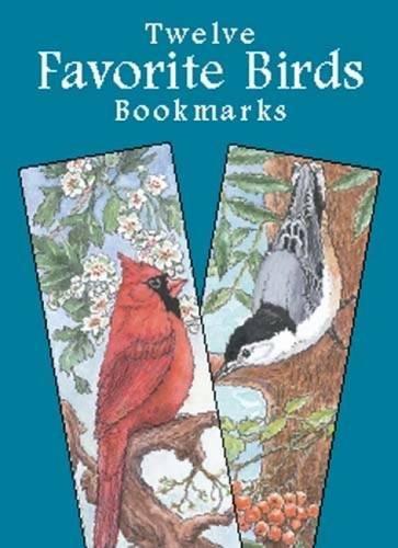 9780486421780: Favorite Birds Bookmarks (Dover Bookmarks)