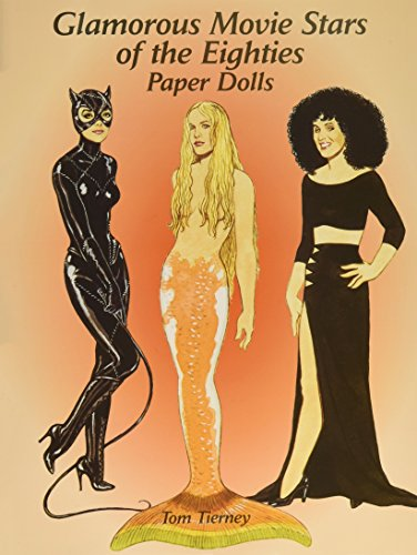 9780486421919: Glamorous Movie Stars of the Eighties Paper Dolls (Dover Celebrity Paper Dolls)