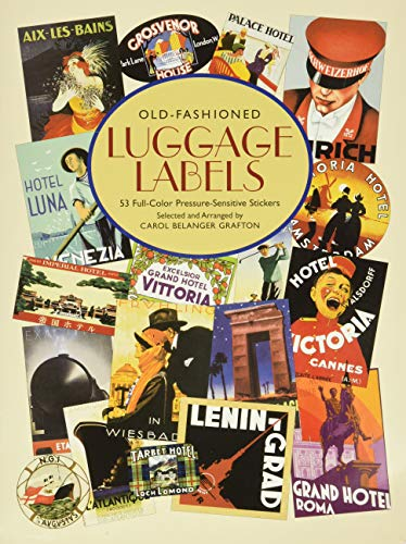 9780486421940: Old-Fashioned Luggage Labels