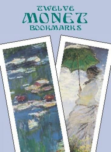 9780486421971: Twelve Monet Bookmarks