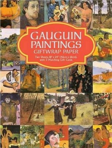 9780486421988: Gauguin Paintings Giftwrap Paper: Two Sheets, 18