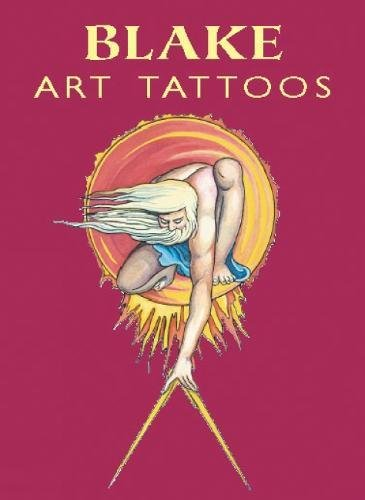 BLAKE ART TATTOOS (4 full-color temporary tattoos: Blake, William