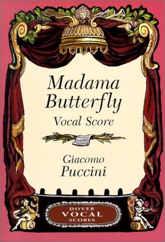 Madama Butterfly Vocal Score: Puccini, Giacomo