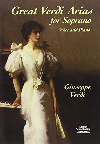9780486422060: Great Verdi Arias for Soprano: Voice and Piano
