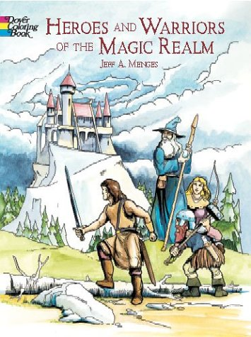 9780486422206: Heroes and Warriors of the Magic Realm (Dover Pictorial Archives)