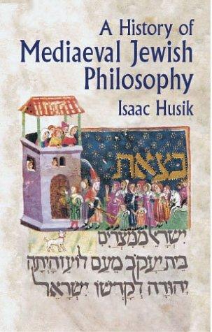 9780486422374: A History of Mediaeval Jewish Philosophy