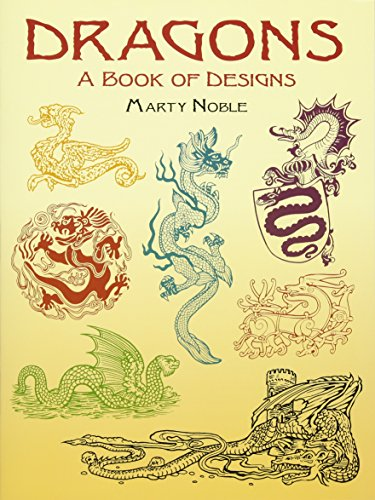9780486423104: Dragons: A Book of Designs