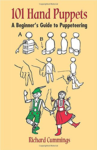 9780486423159: 101 Hand Puppets: A Beginner's Guide to Puppeteering