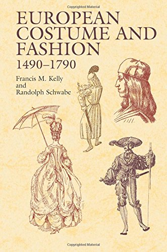 9780486423227: European Costume and Fashion 1490-1790 (Dover Fashion and Costumes)