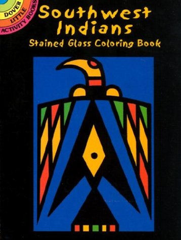 9780486423388: Southwest Indians Stained Glass Coloring Book (Dover Pictorial Archives)