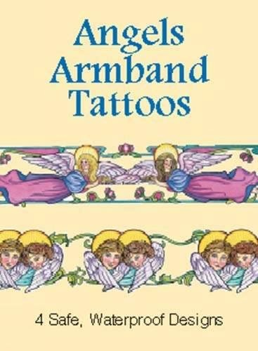ANGELS ARMBAND TATTOOS (4 full-color temporary tattoos): Noble, Marty