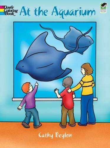 9780486423715: At the Aquarium (Dover Coloring Books)