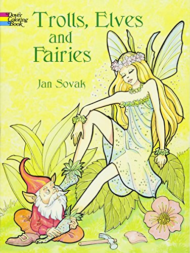9780486423821: Trolls, Elves and Fairies (Dover Coloring Books)