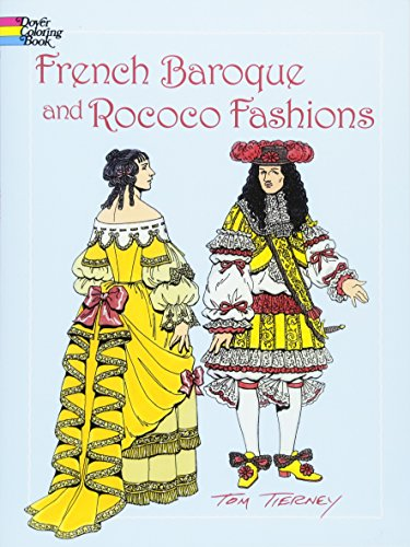 9780486423838: French Baroque and Rococo Fashions (Dover Fashion Coloring Book)