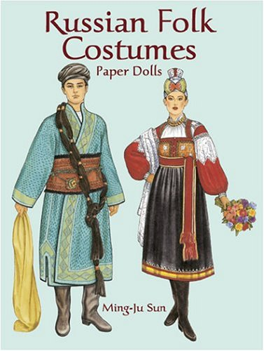 9780486423906: Russian Folk Costumes Paper Dolls