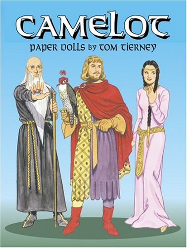 Camelot Paper Dolls: Tierney, Tom