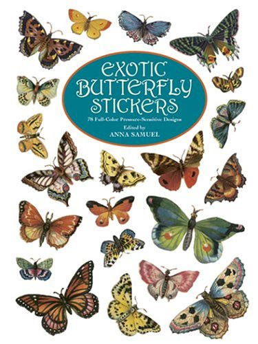 9780486424026: Exotic Butterfly Stickers