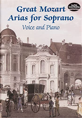 9780486424392: Great Mozart Arias for Soprano: Voice and Piano