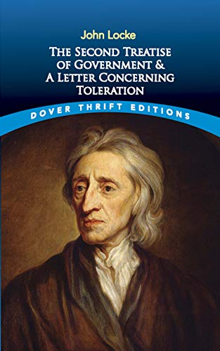 9780486424644: The Second Treatise of Government: AND A Letter Concerning Toleration (Dover Thrift Editions)