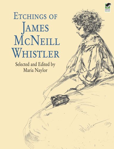 9780486424811: Etchings of James McNeill Whistler (Dover Fine Art, History of Art)