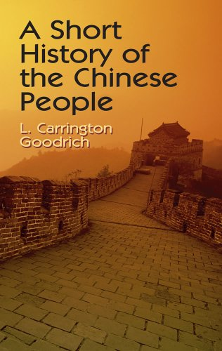 9780486424880: A Short History of the Chinese People