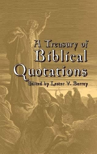 9780486425030: A Treasury of Biblical Quotations