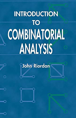 9780486425368: Introduction to Combinatorial Analysis (Dover Books on Mathematics)