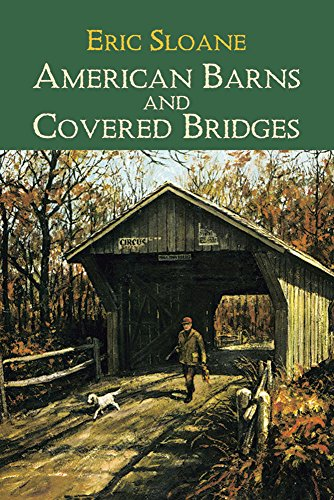 9780486425610: American Barns & Covered Bridges (Americana)