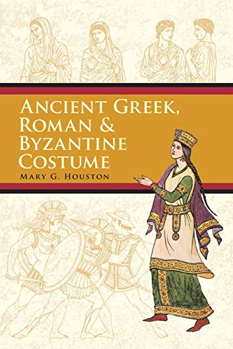 9780486426105: Ancient Greek, Roman & Byzantine Costume (Dover Fashion and Costumes)