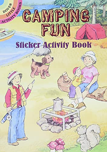 9780486426266: Camping Fun Sticker Activity Book