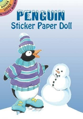 9780486426297: Penguin Sticker Paper Doll (Dover Little Activity Books Paper Dolls)