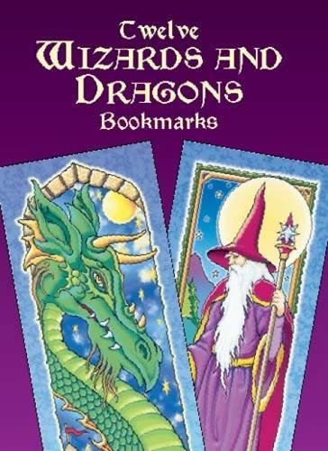 9780486426402: Twelve Wizards and Dragons Bookmarks (Dover Bookmarks)