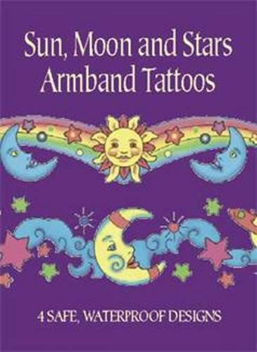 SUN, MOON AND STARS ARMBAND TATTOOS (4