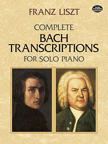 9780486426617: Complete Bach Transcriptions for Solo Piano