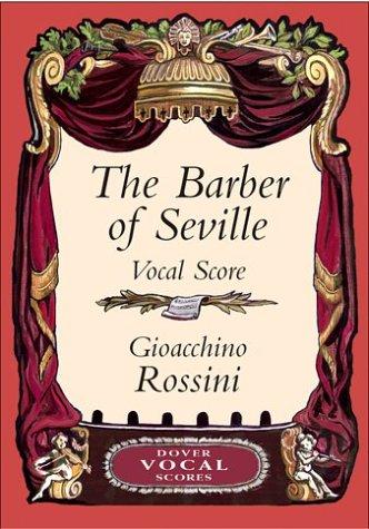 9780486426631: The Barber of Seville Vocal Score