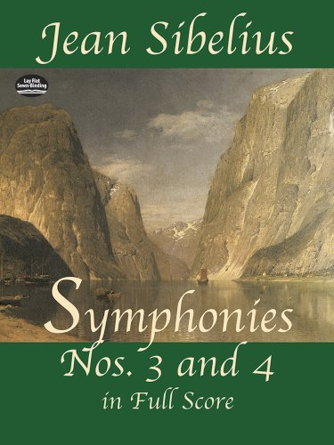 9780486426686: Symphonies Nos. 3 and 4 in Full Score
