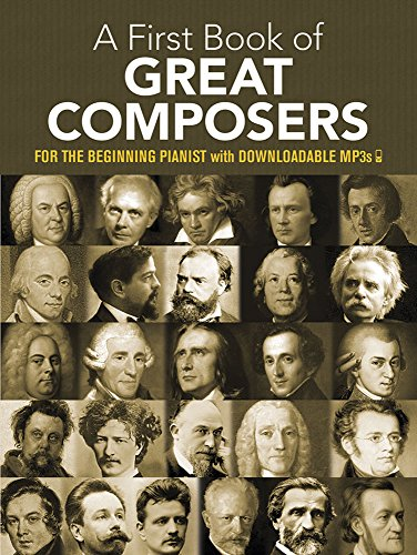 9780486427560: My First Book of Great Composers: 26 Themes by Bach, Beethoven, Mozart and Others in Easy Piano Arragements