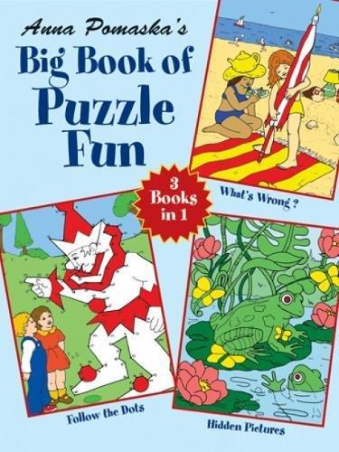 9780486427904: Anna Pomaska's Big Book of Puzzle Fun (Dover Children's Activity Books)