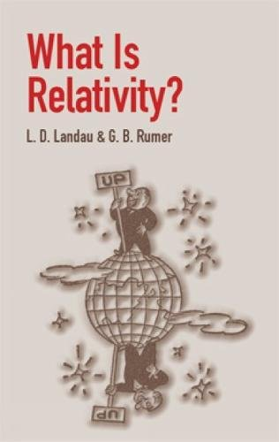 9780486428062: What Is Relativity?