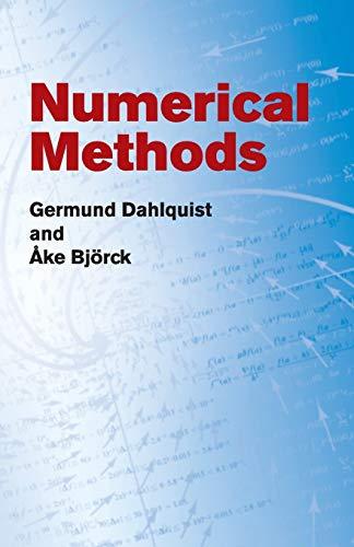 Numerical Methods (Dover Books on Mathematics): Germund Dahlquist; Åke