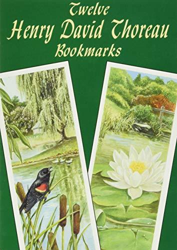 9780486428239: Twelve Henry David Thoreau Bookmarks (Dover Bookmarks)