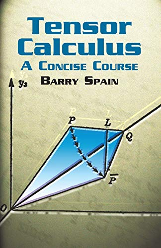 9780486428314: Tensor Calculus: A Concise Course (Dover Books on Mathematics)