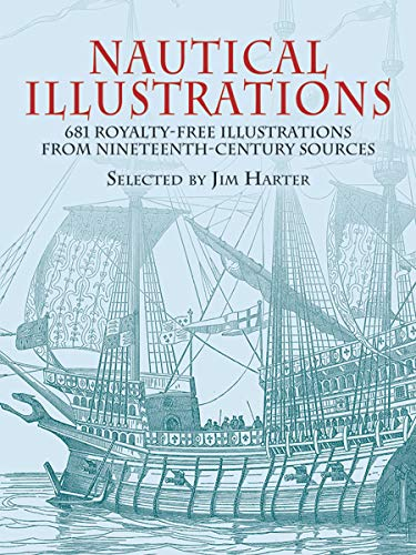 9780486428352: Nautical Illustrations: 681 Permission-Free Illustrations from Nineteenth-Century Sources