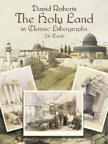 9780486428482: The Holy Land in Classic Lithographs: 24 Cards (Dover Postcards)