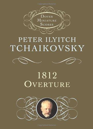 9780486428567: 1812 Overture, Op. 49 (Dover Miniature Music Scores)